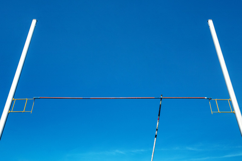 Pole vaulting equipment